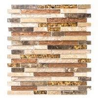 Interlock Crystal/Stone mix beige/brown 29,8x33,8